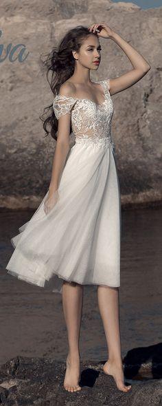 Milva Bridal Wedding Dresses 2017 Bruna / http://www.deerpearlflowers.com/milva-wedding-dresses/9/