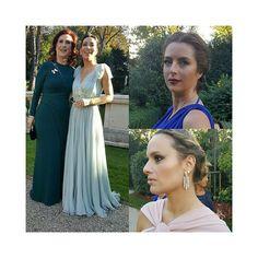 Lindas mulheres no #casamentomariepipo 👰🙏😍😙  Looks de casamento • madrinha • mãe da noiva • Make por Nadia Tambasco e cabelos por Por Didier Sé