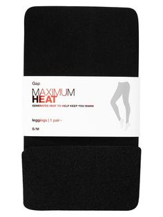 Gap Maximum Heat Leggings. Thick knit generates heat to help keep you warm