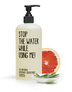 All-natural Rosemary Grapefruit Shampoo From Stop-The-Water-While-Using-Me.com