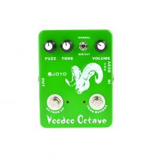 Fuzz : JOYO JF-12 Ultimate Fuzz and Octave Guitar Effect Pedal