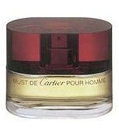 Must de Cartier Pour Homme Cartier cologne. Top notes are coriander, carnation, green mandarin, grapefruit, anise, bergamot and oive leaf; middle notes are ginger and cinnamon; base notes are sandalwood, tonka bean, patchouli, musk, vanilla, vetiver and cedar.