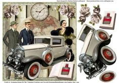Time Changes the World Topper Decoupage on Craftsuprint - Add To Basket!