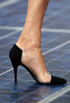 Maybe not the 'it' shoe of the latest Chanel S/S RTW but definitely the most elegant