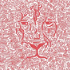 #GraphicArt #illustration #scribble #color #thomasbijen #tb #doodle #sketching #eye #ink #imstaart #tattoo #life #mural #lines #lion #red #vector #dots #abstract #animal #beast #art #graphic @dailydoodlegram