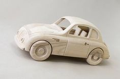 Wooden Toys, Baťa cars on Behance