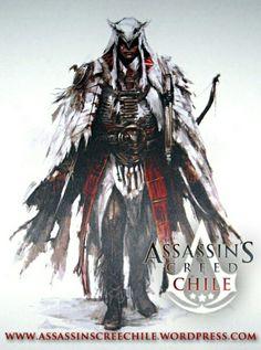 Conor the assassins creed 3 in the Chile kawai (^o^)