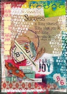 Art Journal Caravan™ | Studio Tangie | Inspiration for a new photo project -digital art journal.