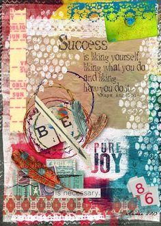 Art Journal Caravan™ | Studio Tangie  re-pinned by www.reflectionscc.com Sarasota Christian Counseling 941-301-8420 941-301-8420
