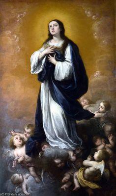 Bartolomé Esteban Murillo - La inmaculada concepción - Pintura Barroca Española