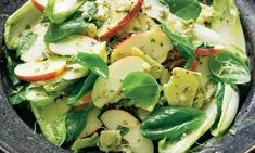 Yotam Ottolenghi's apple and cheddar salad