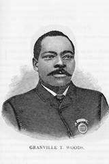 Grandville T. Woods (1856-1910), Grandville made incredible contributions to railroad safety. He invented the technology that kept trains seperated and notified engeneers of train proxcimity. He also invented the multiplex telegraph