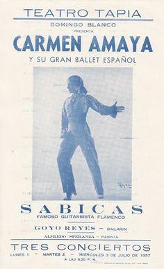 Carmen Amaya, Gypsy Women, Flamenco Dancers, Ballet, Dance Art, Andalusia, Strike A Pose, Vintage Posters, Spanish