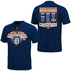 well, I have to get at least one.    Detroit Tigers 2012 AL Central Division Champions Roster T-Shirt - MLB.com Shop