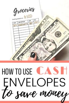 The cash envelope system is a powerful tool to curb against impulsive spending! Transform your finances with these DIY cash envelopes, free printable included! Budget Envelopes, Cash Envelopes, Monthly Budget Printable, Free Printables, Money Saving Mom, Money Savers, Cash Envelope System, Budgeting Money, Budget Planner