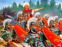 Imperial Roman legionaries in Germania