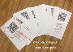 Eberopolis: Teaching Reading and Writing with Technology: Tutorial: Use QR Codes for Differentiation