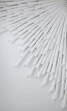 blanc | white | bianco | 白 | belyj | gwyn | color | texture | form | Marit Roland | paper, 2014