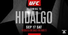 Hidalgo Gets UFC Fight Night Card on Sept. 17 : Hombres Mag For Men | MoreSmile