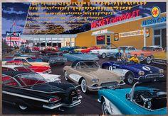 (10) Vintage Automobile Dealerships and Automobilia