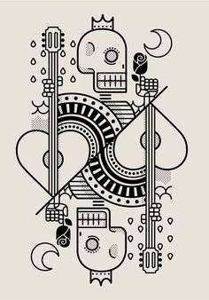 Surf Royale by Dario Genuardi. Cards, Skull, line drawing Graphic Design Illustration, Graphic Art, Illustration Art, Surf Outfit, Art Graphique, Skull Art, Silkscreen, Graphic Design Inspiration, Doodle Art