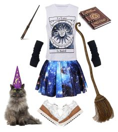 """""""tragic magic"""" by disabledpaladin on Polyvore featuring STELLA McCARTNEY and Rubie's Costume Co."""