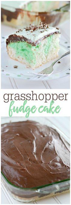 Grasshopper Fudge Ca