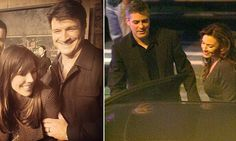 Nathan Fillion's new squeeze is George Clooney's ex Krista Allen