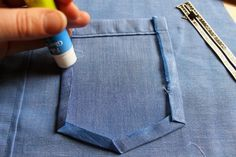 better sometimes than pins or bastingn: my 4 favorite shirtmaking tools