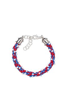 Jewelry Design - Bracelet with Kumihimo Satinique™ Satin Cord and Miyuki Seed Beads - Fire Mountain Gems and Beads