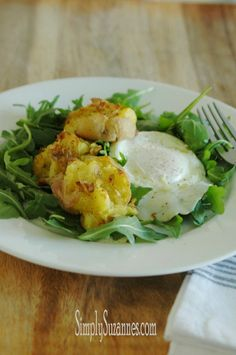 Simply Suzanne's AT HOME: smashed roasted potatoes & a simple lemon mustard vinaigrette salad