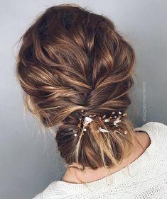 Beautiful wedding updo hairstyles, bridal hairstyle #weddinghair #hairstyles #updohairstyle
