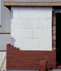 Budowa ścian - ściany zewnętrzne trójwarstwowe