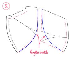 Bra-making Sew Along: Vertical Seam Variation