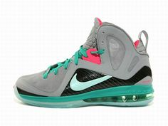 One of the most anticipated releases of the season has dropped this week – the Lebron 9 P.S. Elite South Beach. The South Beach colorway from Nike Basketball remains to be one of the most popular ones and it proofs to be refreshing once again. The clean grey base with pink color and turquoise accents came out very nice.