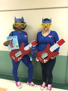 Pete the Cat Teacher  costume