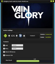 Here is what you searched - Vainglory hack cheats. The 2017 version of Vainglory hack cheats finally working.