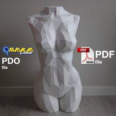 Pit bull Dog Paper Craft Digital Template Origami PDF | Etsy 3d Paper Crafts, Diy Paper, Paper Crafting, Low Poly, Rabbit Sculpture, 3d Art, Bullet Journal Mood, Wood Carving Art, Paper Models