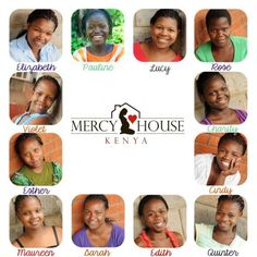 Girls from mercy house