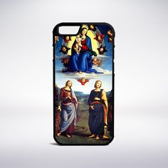 Pietro Perugino - Madonna In Glory With Saints Phone Case – Muse Phone Cases