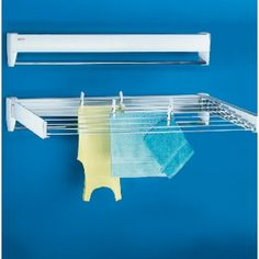 Leifheit Telegant 100 Wall Mounted Clothes Airer