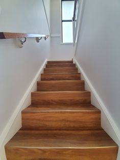 Lovely Maple Stained Colour Stairs