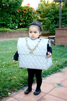 Now this is a well dressed child.