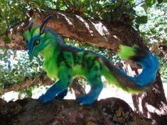 Blue-Green Dragon by CMWyvern