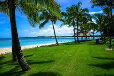 intercontinental Fiji - Beach and Lawn