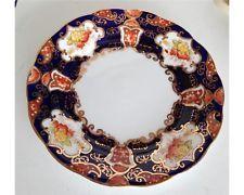 """1927 Royal Albert Crown China Reg No 719535 Imari 7"""" Plate"""