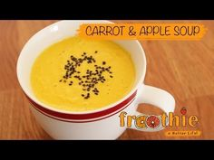 Carrot and Apple Soup in your Optimum 9400 on Getting into Raw cooking with Zane - YouTube