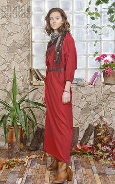 Chalah 2015-2016 Fall Collection #chalah #elbise #dress #fashion #moda #trend #sonbahar #kış #kırmızı #bordo #designer #specialdesign