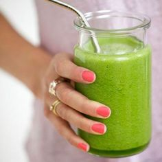 Green Breakfast Smoothie Recipe - Healthy Fruit Juice and Smoothie Recipes - Shape Magazine