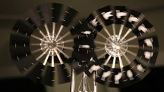 Kinetic Public Sculptures that use natural energy to create a moving image